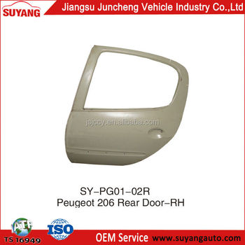 Auto Back Door For Peugeot 206,Right Side,Peugeot Body Parts
