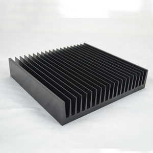 Anodized flexible aluminum extrusion profile heatsink
