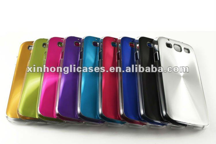 CD lines noble metallic case for samsung galaxy s3/i9300,for samsung galaxy s3/i9300 accessory