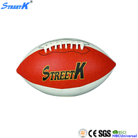 weighted american football custom printed promotional mini rugby ball