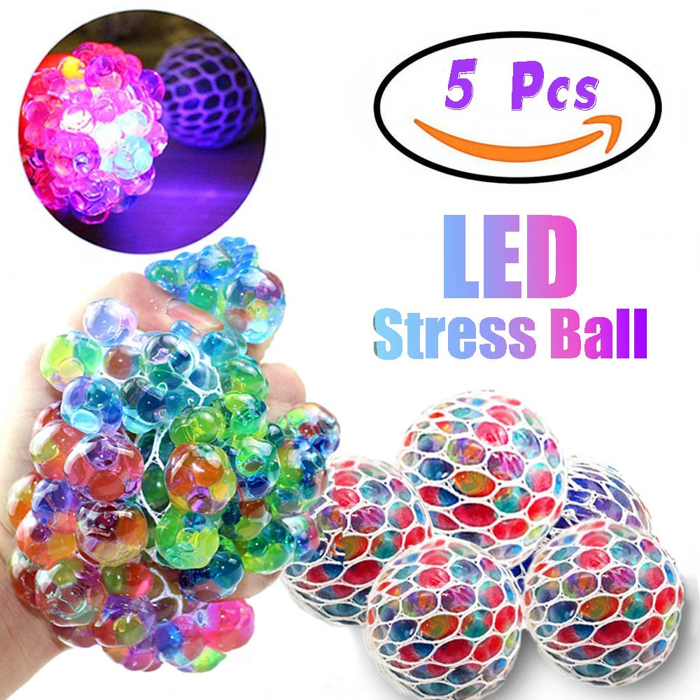 New Attractive Spongy Rainbow Ball Puffer Squeeze Toys Squishy Anti Stress Fun Funny Gadget Interesting Toys Kid Gift Decoration Welding Helmets