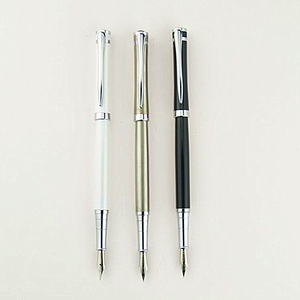 Top quality personalized promotional luxury fountain pen 14k