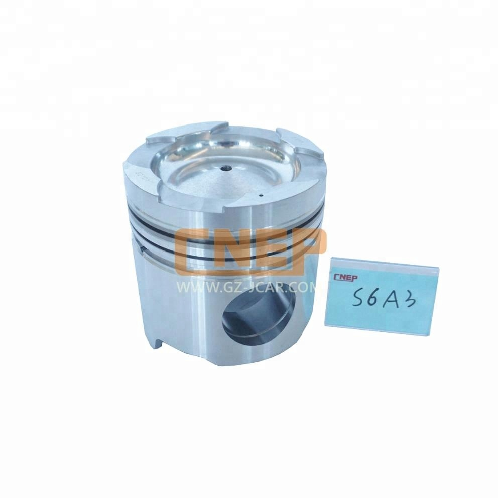 Diesel engine part MITSUBISHI S6A3 piston OEM 32A17-30101 in stock for sale