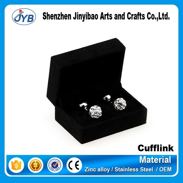 cheap metal father of the bride cufflinks for men with box