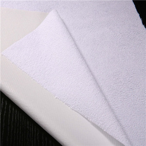 80% Cotton 20%polyester Terry Waterproof Fabric Laminated With 0.02mm TPU