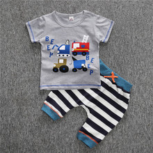 Infant Clothes Shirts With Stripe Icing Boutique Store Pants High Quality Kids Clothes