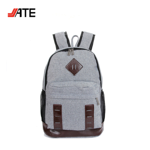 Fashion Design Organic Cotton Backpack, 100% Organic Cotton Backpack