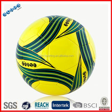 Low price tpu soccer ball machine stitched ball exportation
