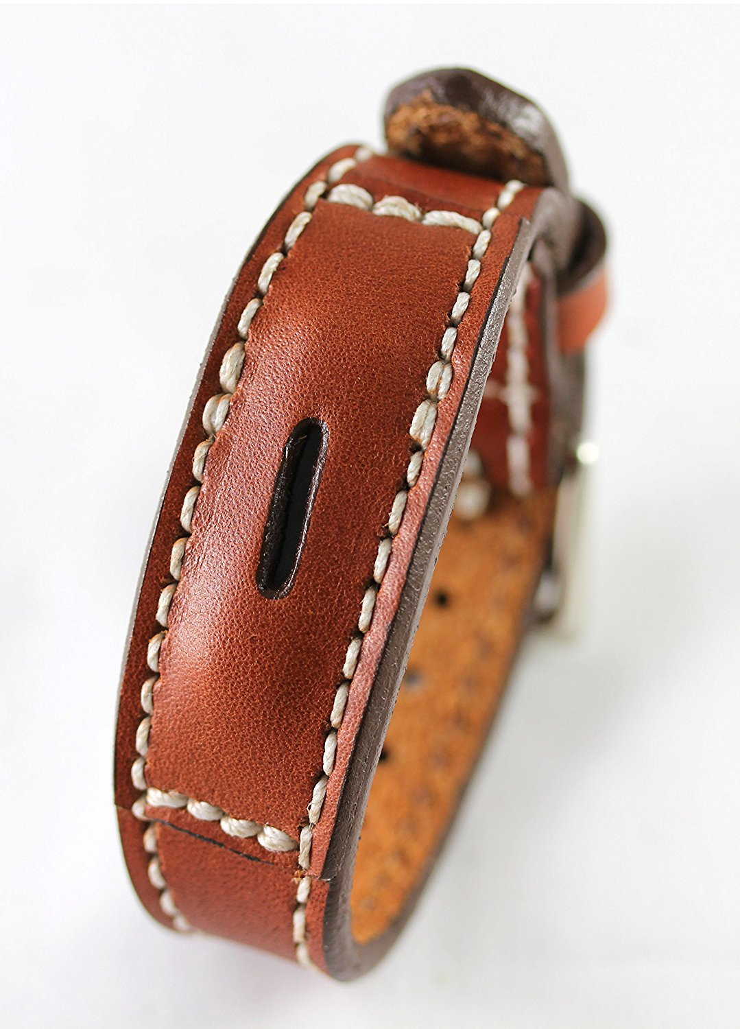 Fitbit Flex 2 Real Leather Band - Replacement Band For Fitbit Flex 2 - Full Grain Fit Bit Flex band