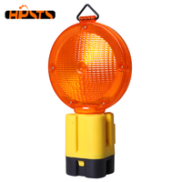 High visibility blue color battery operated led reflective safety light