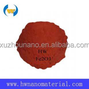 China Supplier Ultra Fine Red Pigment Nano Fe2o3 Ferric