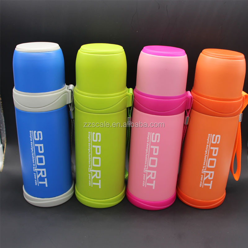 OEM color sport double wall stainless steel vacuum flask