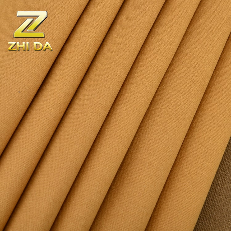 Wholesale woven cotton fabric 16oz oilwaxed duck canvas water proof fabric for canvas duffle bag