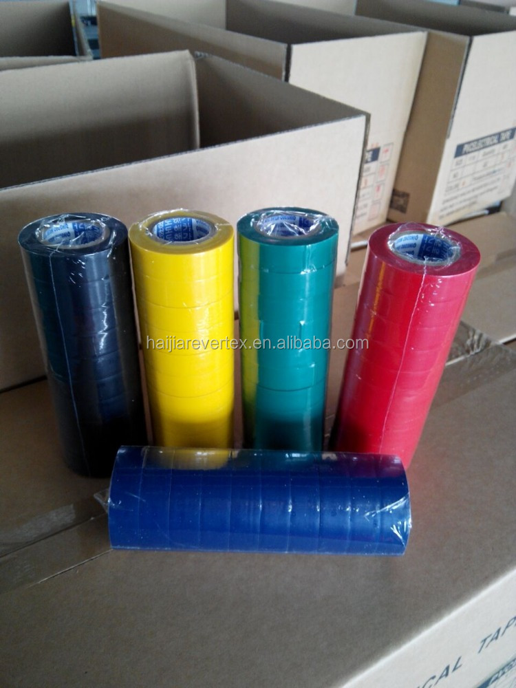 full sizes full color top quality pvc electrical tape pvc adhesive tape
