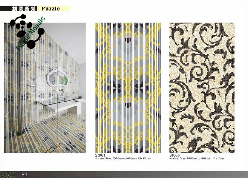 Decoratie Tegels Badkamer : Mb mozaïek muur decoratieve tegel patronen glasmozaïek tegels