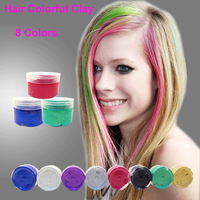 Hair Color Styling Clay - Buy Clay,Hair Clay,Hair Clay For Styling ...