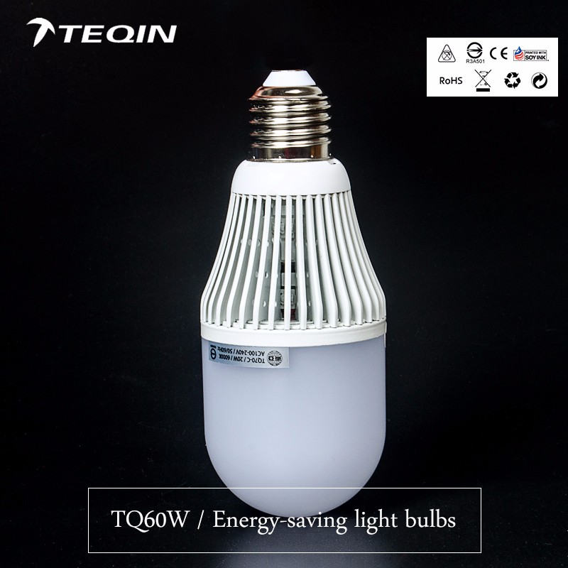 New products Aluminum+plastic led energy saving lights with Super heat dissipation