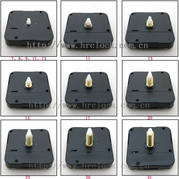 Quartz Wall Clock Movement Motor 1 5v Battery Motors Supplier