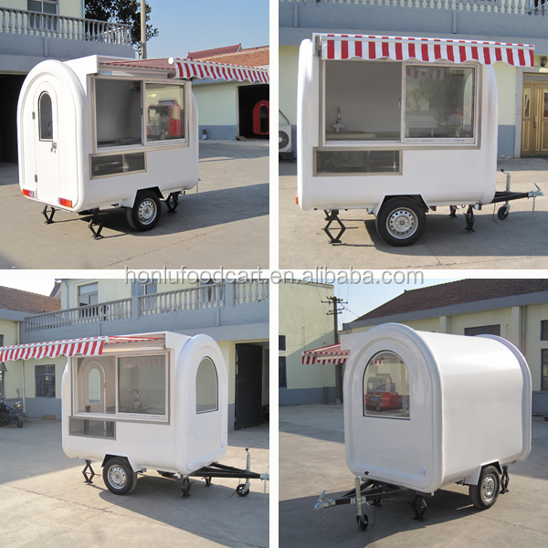 Manufacture Customized Pizza Fast Food Trailer/mobile juice van food delivery vehicle