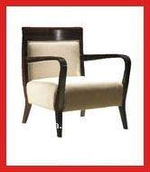 Fashionable Hotel Room Chair with Low Armrest(EMT-059)