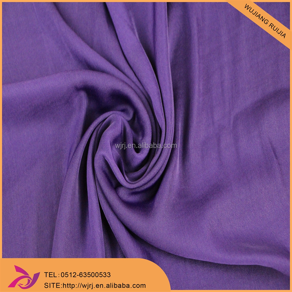 smooth hand feeling polyester Island type chiffon fabric