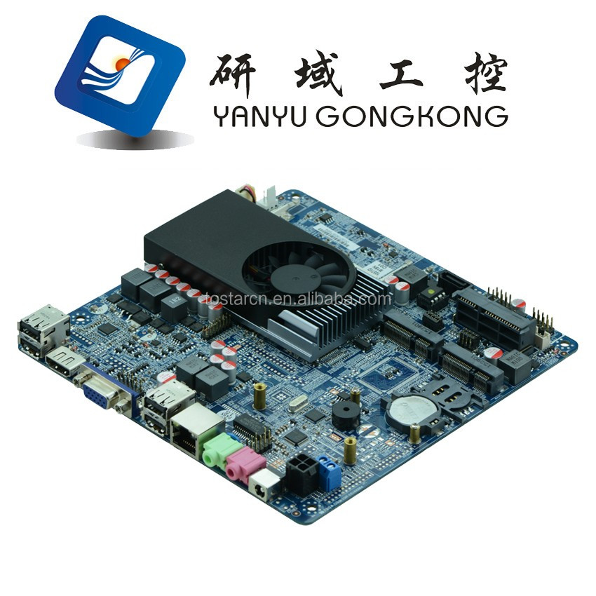 Thin motherboard 1.8GHZ 1037U all in one industrial motherboard Itx Motherboard suppport DDR3