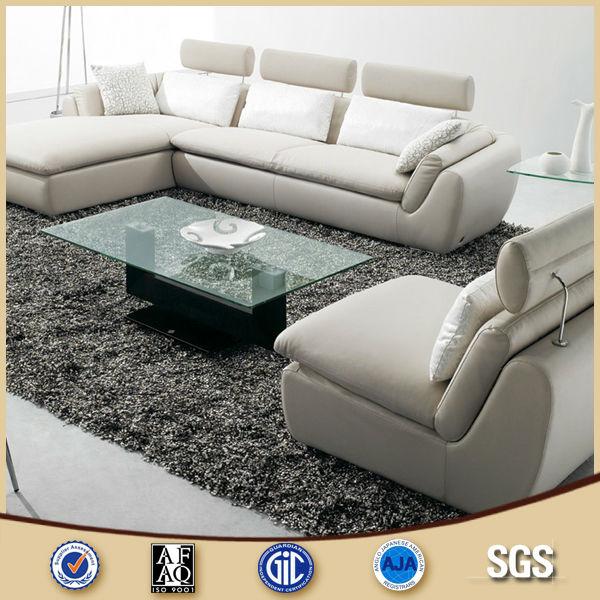 Malaysia Latest Sofa Design White Leather L Shape Shaped Designs Product On Alibaba