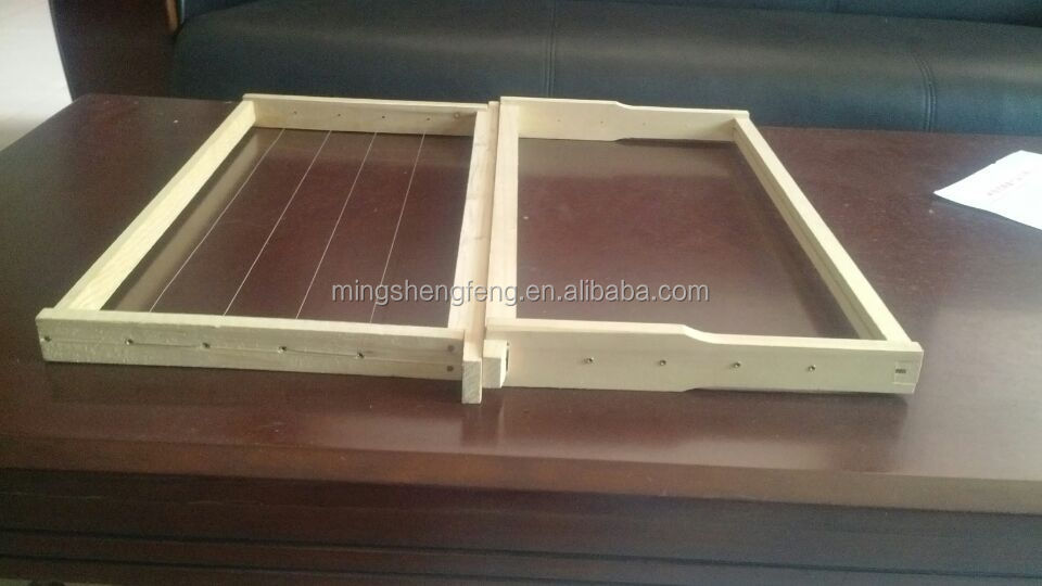 High quality China fir wooden bee hive frames