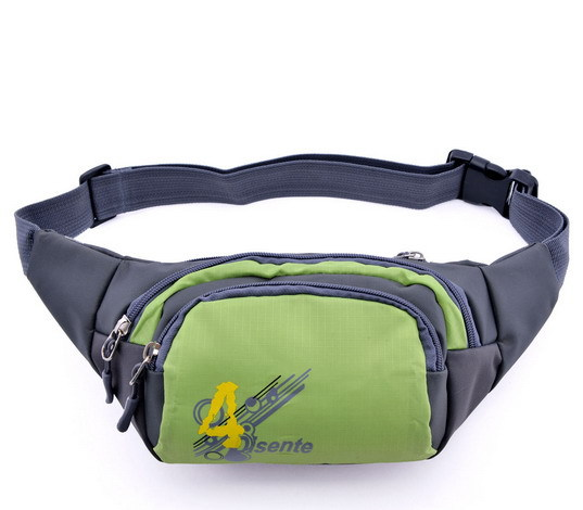 The New 2015 6 Color Printing Waist Bag The Fashion Leisure Outdoor Sports Men And Women General Multi-functional Fanny Pack