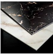 Super 24x24 Black Polished Porcelain Tile,imitation marble tile,style floor tile selections porcelain tile