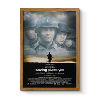 Custom Sizes Photo Frame 20x30 30x40 Plastic Movie Poster Frame 24x36