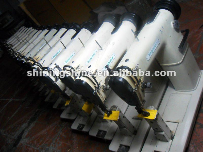 large stock used shoe upper industrial sewing machine