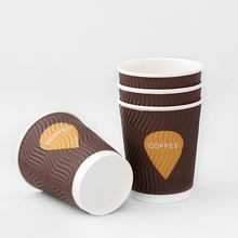 8/12/14/<span class=keywords><strong>16</strong></span> <span class=keywords><strong>OZ</strong></span> Wegwerp custom ripple muur koffie paper cup