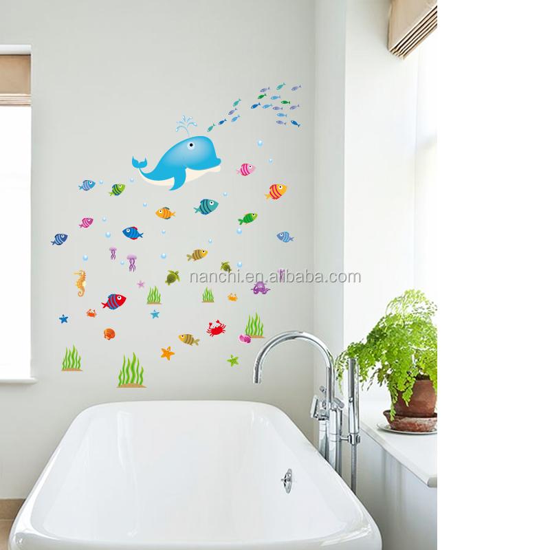Venta al por mayor decoracion delfines para cuarto compre for Paredes en 3d decoracion