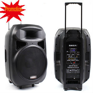 "15"" Inch Plastic Speaker Box/outdoor Active/stage Speaker System ..."