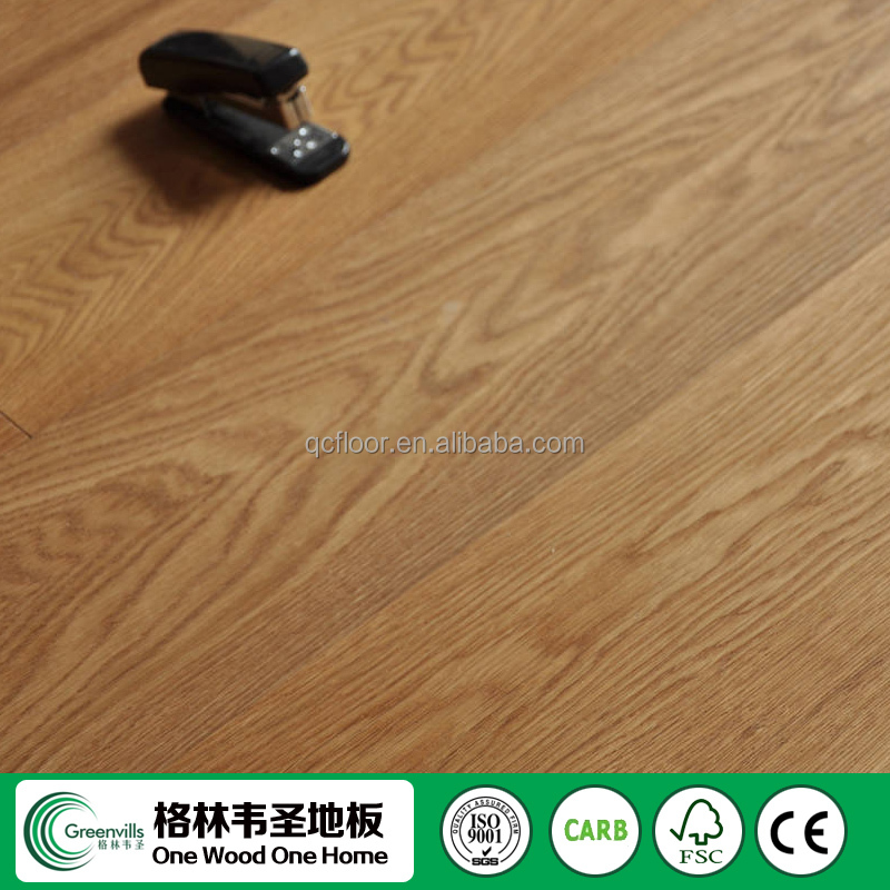big plank competitive price wire brushed oak flooring wood color in Guangzhou