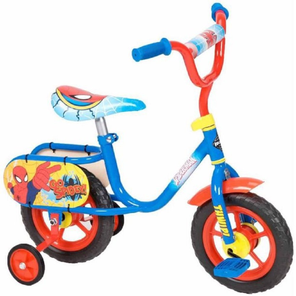 d2205c010ce Get Quotations · Huffy 10 Inch Marvel Ultimate Spider-man Bike/Bicycle/Pedal  Cycle