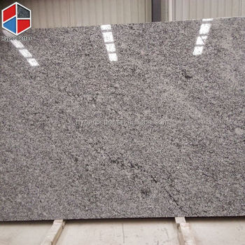 Spray white natural granite slab