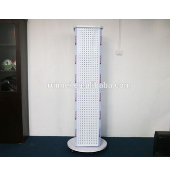 Exhibition Stand Parts : Display stand for hardware stamping parts pegboard display rack