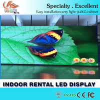 RGX Full color LED video wall/Electronic LED display/Advertising LED screen P6