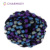 popular soft hand knitting pompom yarn /100% polyester for hand knitting scarves or gloves blanket and other woven goods