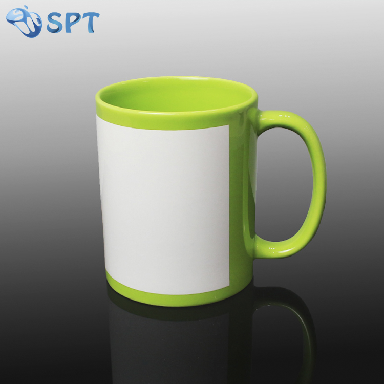 Wholesale Blank Sublimation 11oz full color mug for photo printing