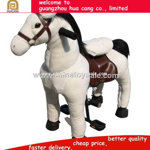 2016 Top sale EN71 toys ride on horse, ride on horse toy pony,mechanical horse for sale
