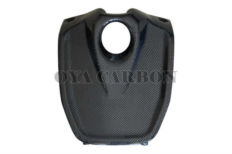 Carbon fiber motorcycle Key Cover with internal lugs for Aprilia Shiver 2009-2010