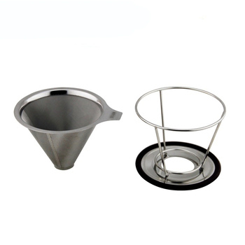 New products stainless steel pour over coffee dripper with coffee pot