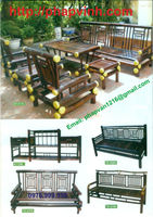 Vietnam high quality bamboo rattan wicker furniture