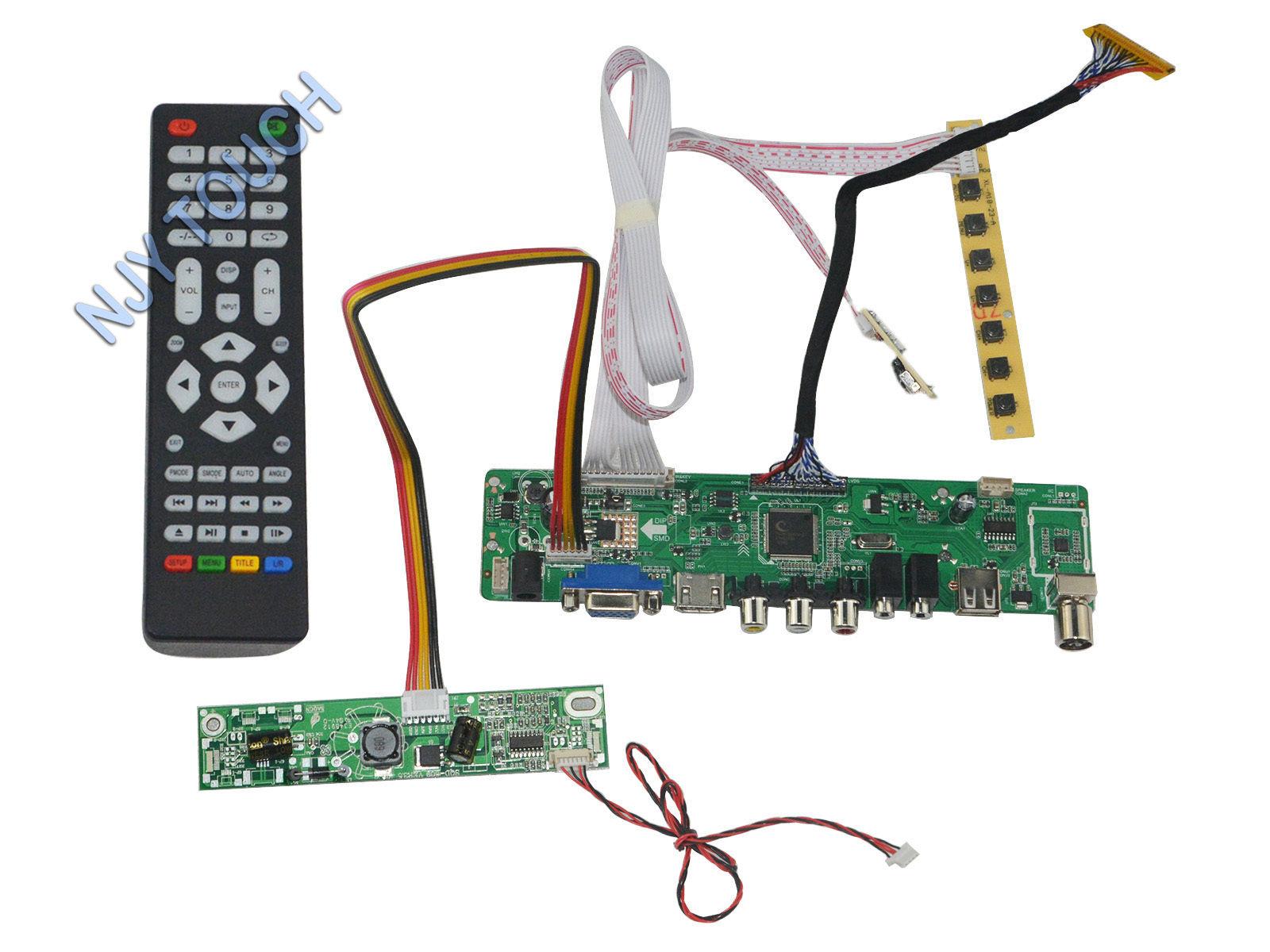 Hd Mi Usb Atv Lcd Controller Board For Ltm200kt10 Ltm200kt12 1600x900 4pin  - Buy Atv Lcd Controller Board,Hdmi Lcd Controller Board,Hdmi Usb Lcd