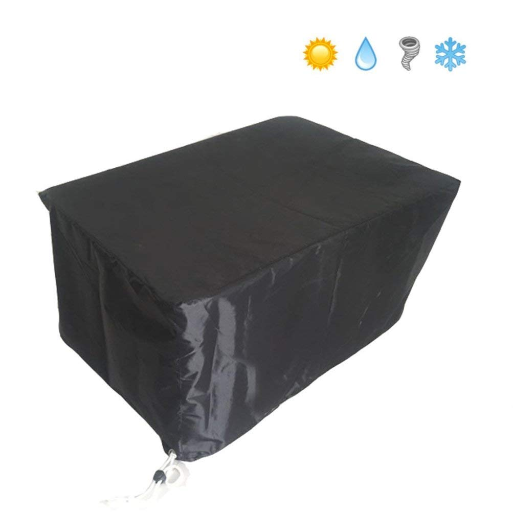 Patio Cover,Garden Furniture Table and Chair Cover - Durable and Water Resistant Fabric Outdoor Furniture Cover - Fits Large Oval or Rectangular Table with Chairs (S)