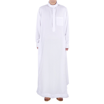Newest modern Islamic Clothing wholesale dubai men thobe