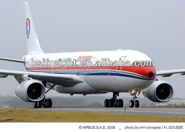 Air freight from Guangzhou China to Paris France
